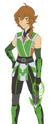 Pidge Shirai Ryu Design by Pyrus-Leonidas