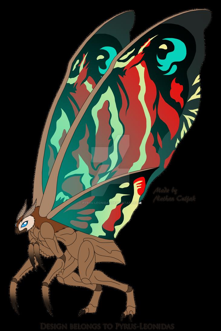 Mothra 2019 Redesign by Pyrus-Leonidas on DeviantArt