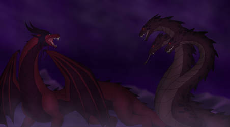 The Dragon vs The Kahn