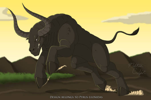 Year of the Ox Kaiju