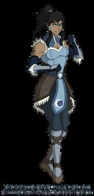 Avatar Korra MK Style