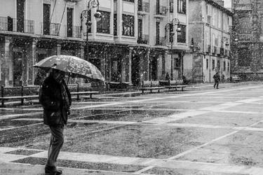 Snow in Leon by Fotoaurinko