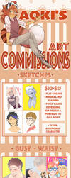 Commission Prices :OPEN: by AokiBrooks