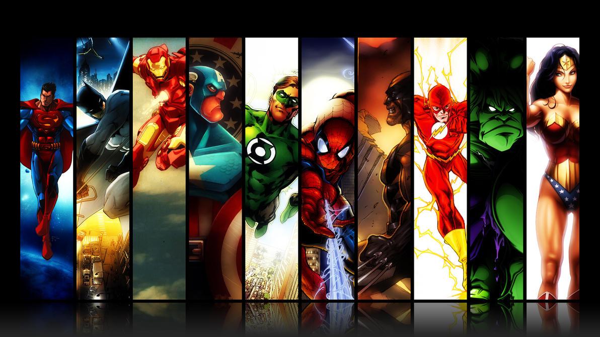 Super hero by psyshark