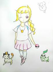 my 1st pokemon oc!!