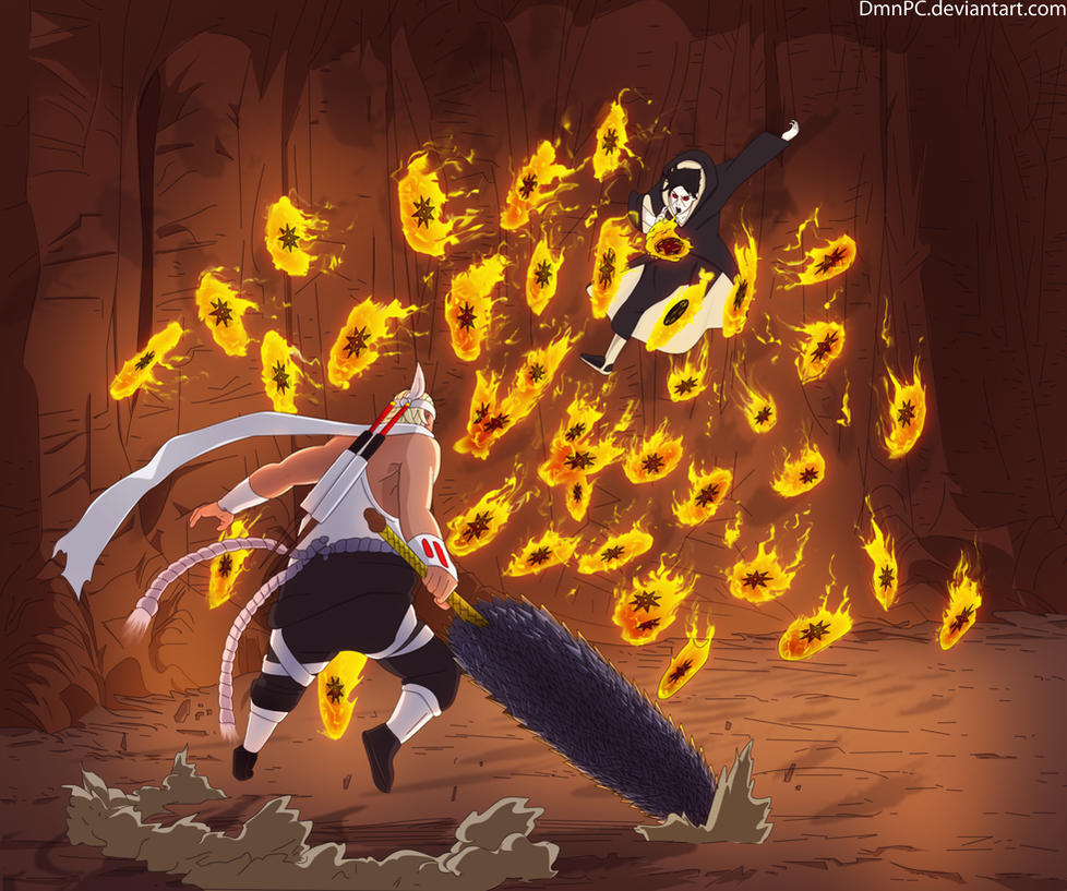 Killer bee vs naruto - photo#11