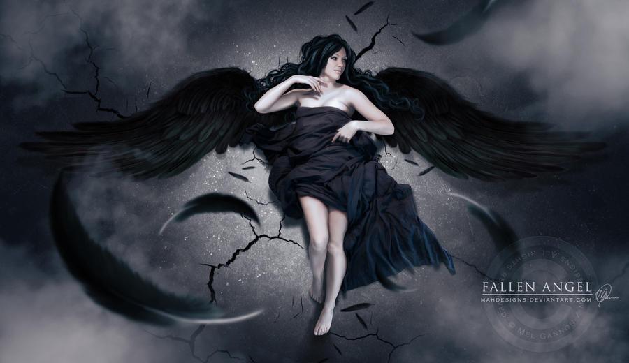 Fallen Angel by melanneart