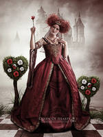 Queen Of Hearts by melanneart