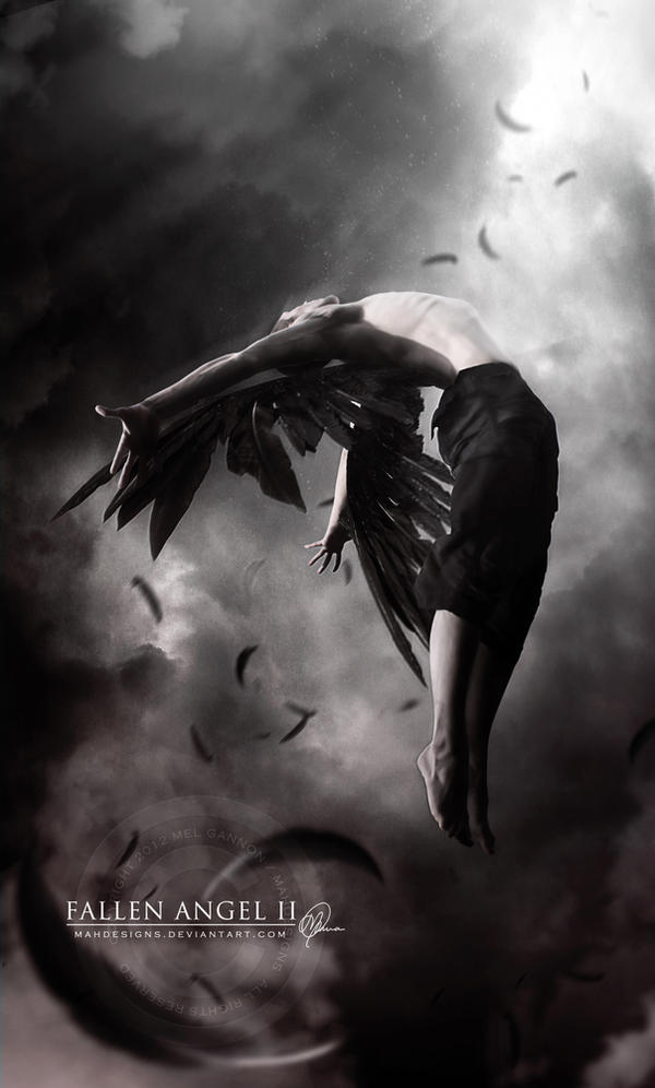 Fallen Angel II by melanneart