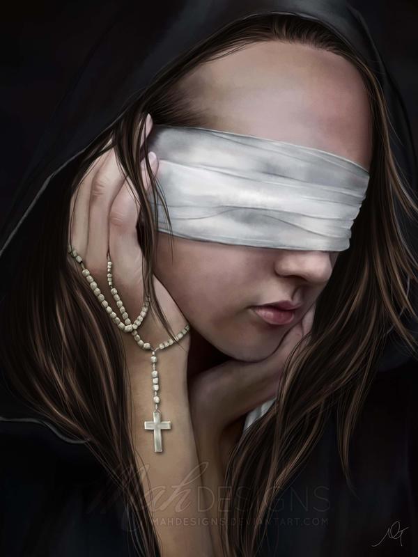 Blind Faith by melanneart