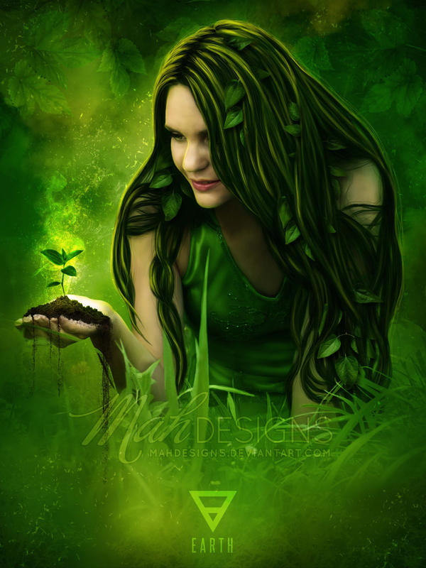 Element: Earth by melanneart on DeviantArt