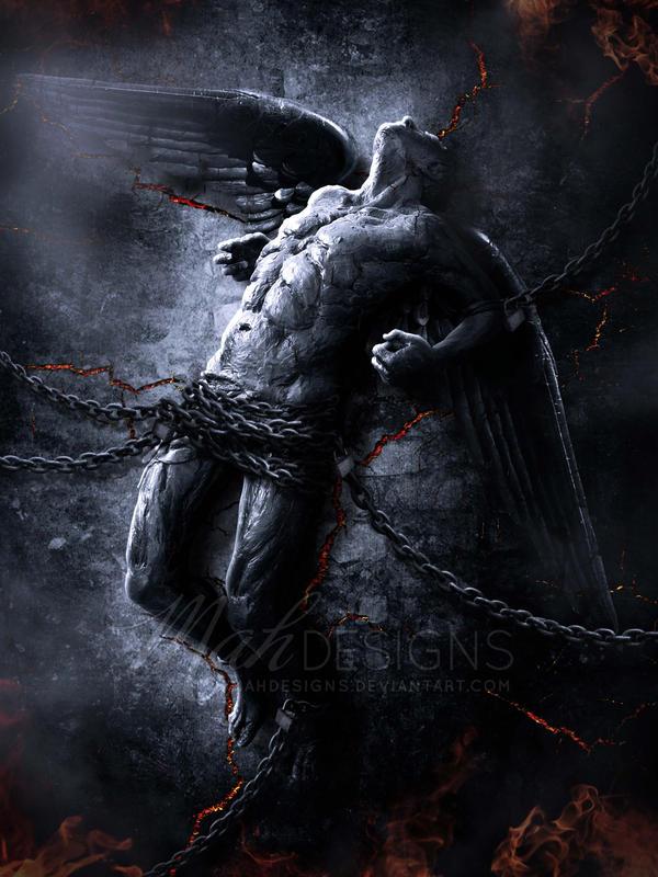 Fallen angel iii by melanneart on deviantart - Free evil angel pictures ...