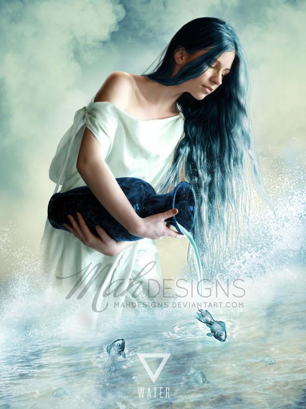 Element: Water by melanneart