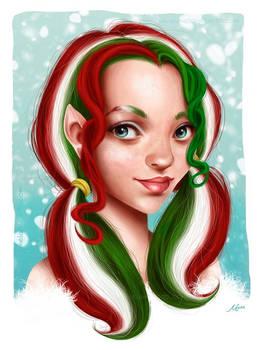 Candy Cane Elf