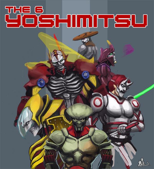 Yoshimitsu By Min02123 On Deviantart