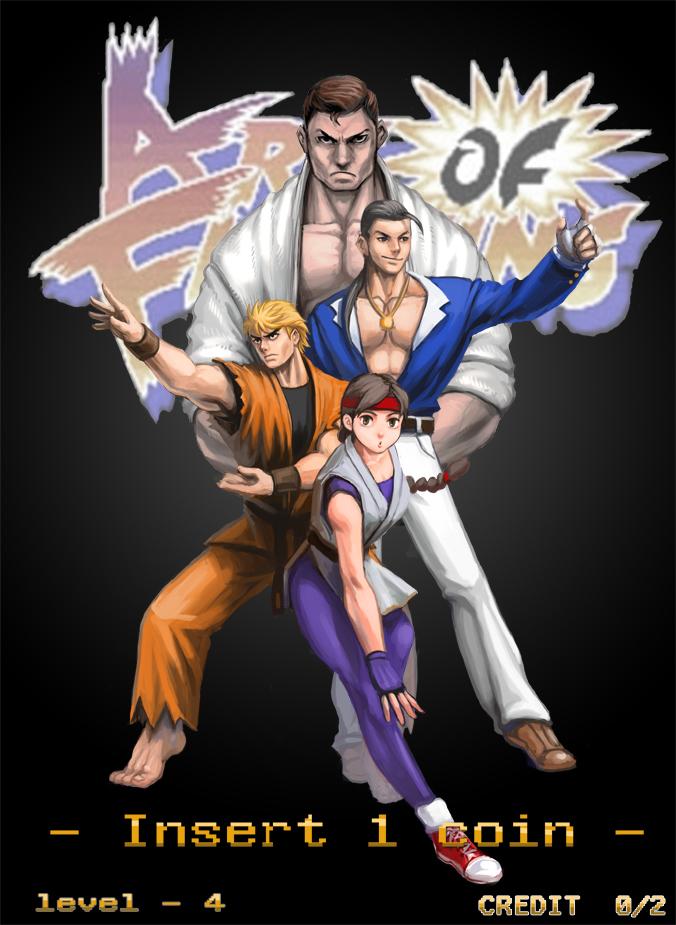 Art Of Fighting By Min02123 On Deviantart