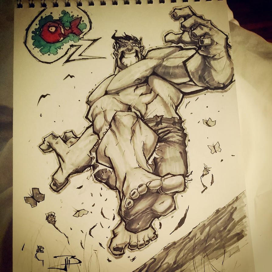 Hulk Jump by Anothen
