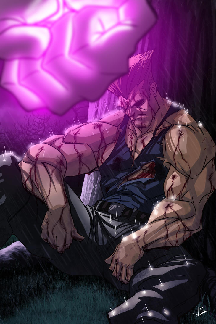 Rough Day Guile by Anothen