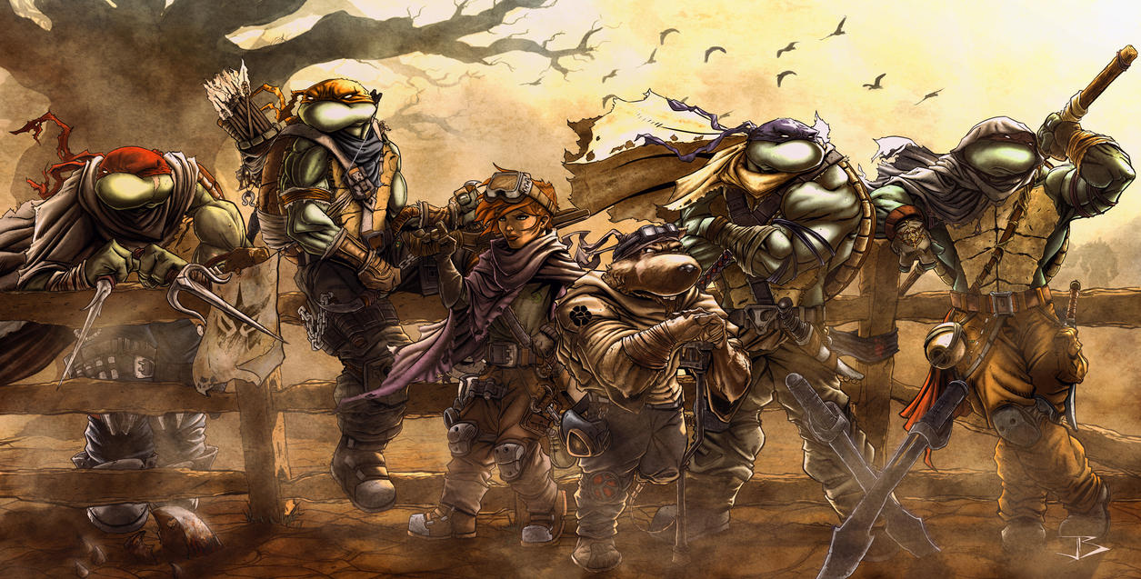 Apocalyptic Turtles by Anothen