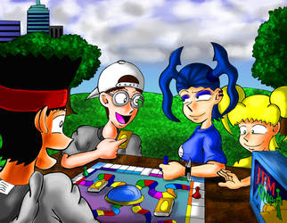 Happy Board Game by JFMstudios
