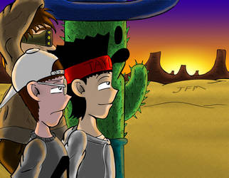 Desert Men by JFMstudios