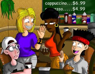 Coffee Shop by JFMstudios
