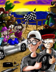 Race Junkies Cover by JFMstudios