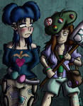 10 Years Later: Bloo and Cassidy by JFMstudios