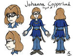 Johanna Concept (1st draft) by JFMstudios