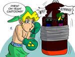 Uncle Link: Punching Bag by JFMstudios