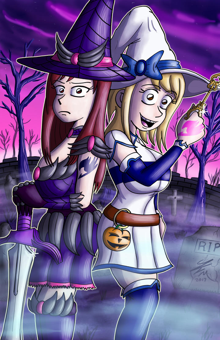 Fairy Tail Witches by JFMstudios