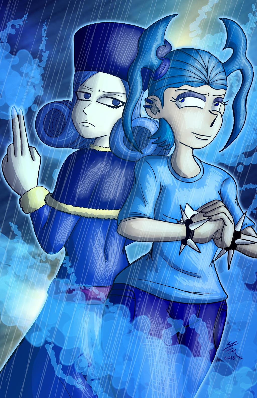 Bloo Rain by JFMstudios