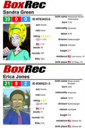 Sandra and Erica's Boxrec Info by JFMstudios