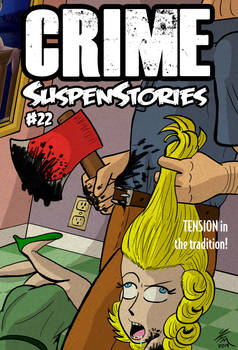 Crime SuspenStories Redraw