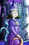 Jeff and Taylor Tarot: The High Priestess by JFMstudios