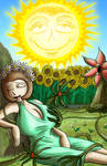 Jeff and Taylor Tarot: The Sun by JFMstudios