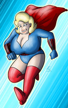 Commission: The Blonde Marvel