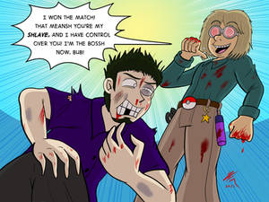 Commission: Super Nerd vs Jacob