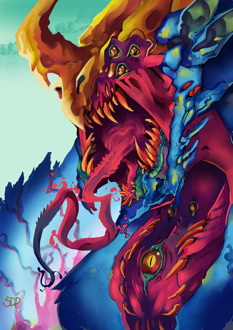 The Hyper Beast by brokencreation