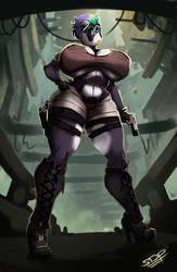 THOT Raider by brokencreation