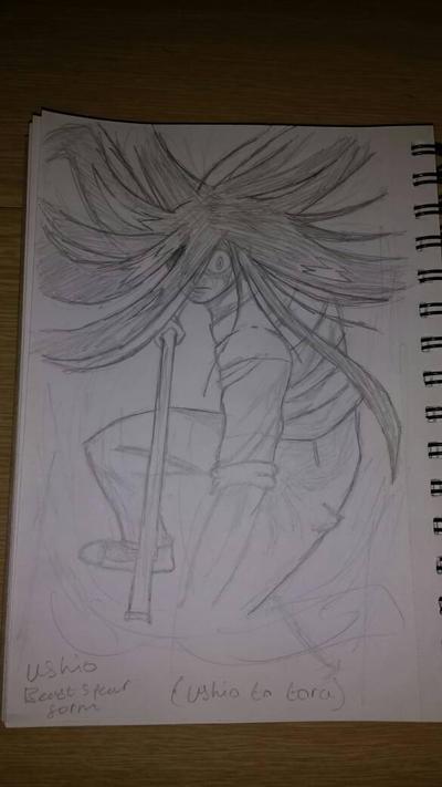Ushio (Beast Spear Form) by zTLEG360QSz