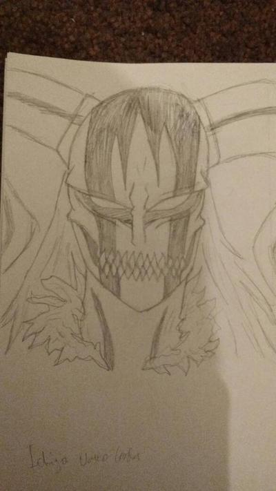 Ichigo Vasto Lorde Form  by zTLEG360QSz
