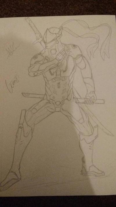 Genji (Overwatch) by zTLEG360QSz