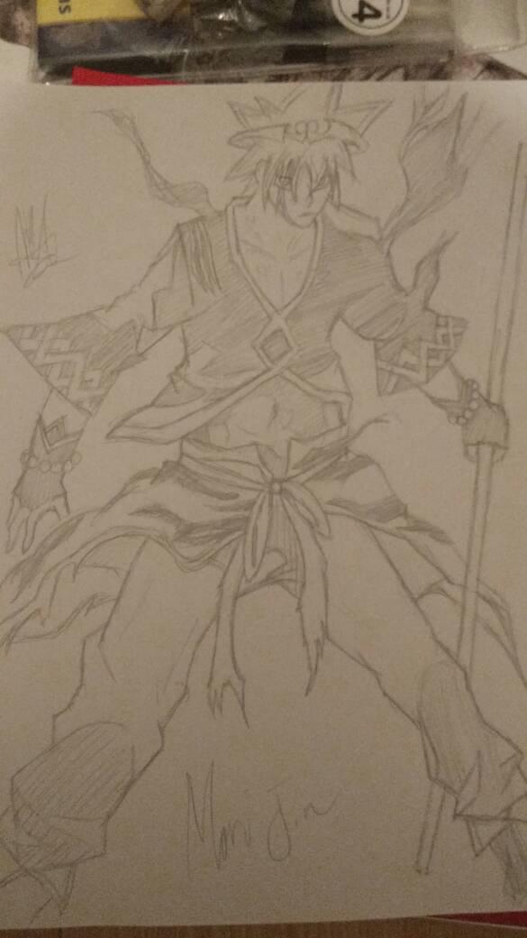 Mori Jin (Armour Suit) (God Of Highschool) by zTLEG360QSz