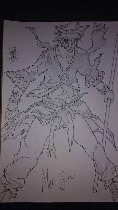 (Inked) Mori Jin (Armour suit) by zTLEG360QSz