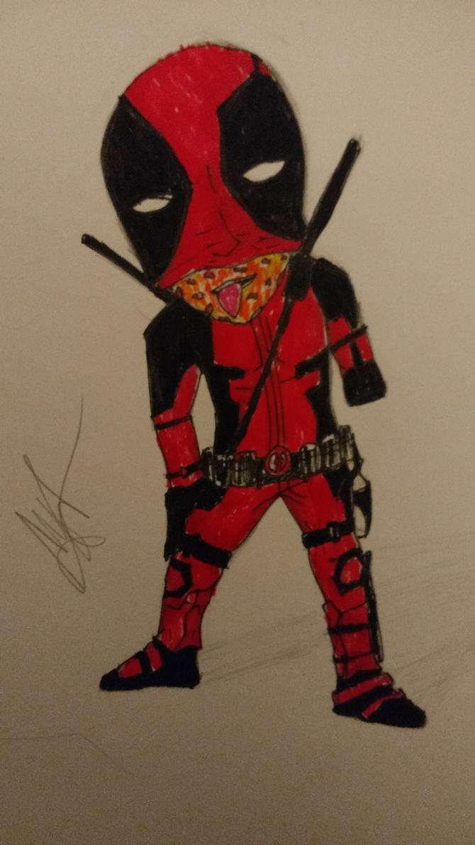 Deadpool (Colour) by zTLEG360QSz