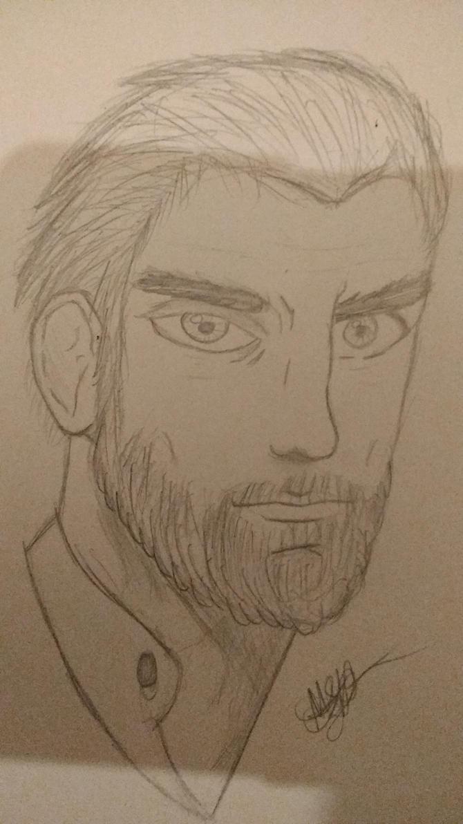 Bearded Guy Portrait by zTLEG360QSz