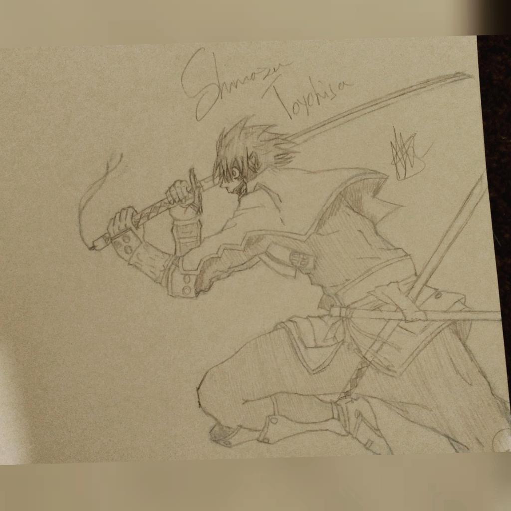 Shimazu Toyohisa VS Hijikata Toshizo {WiP} by zTLEG360QSz