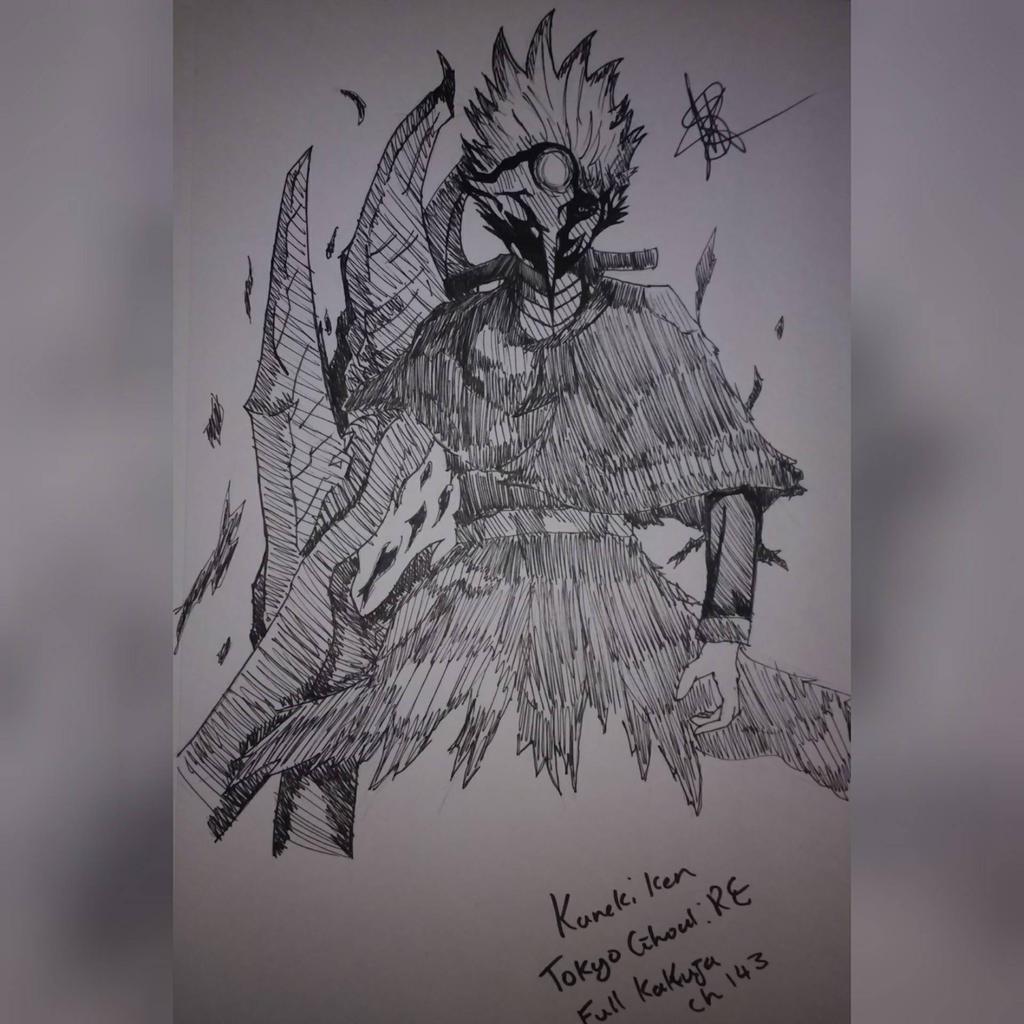 Kaneki Ken (Kakuja) by zTLEG360QSz