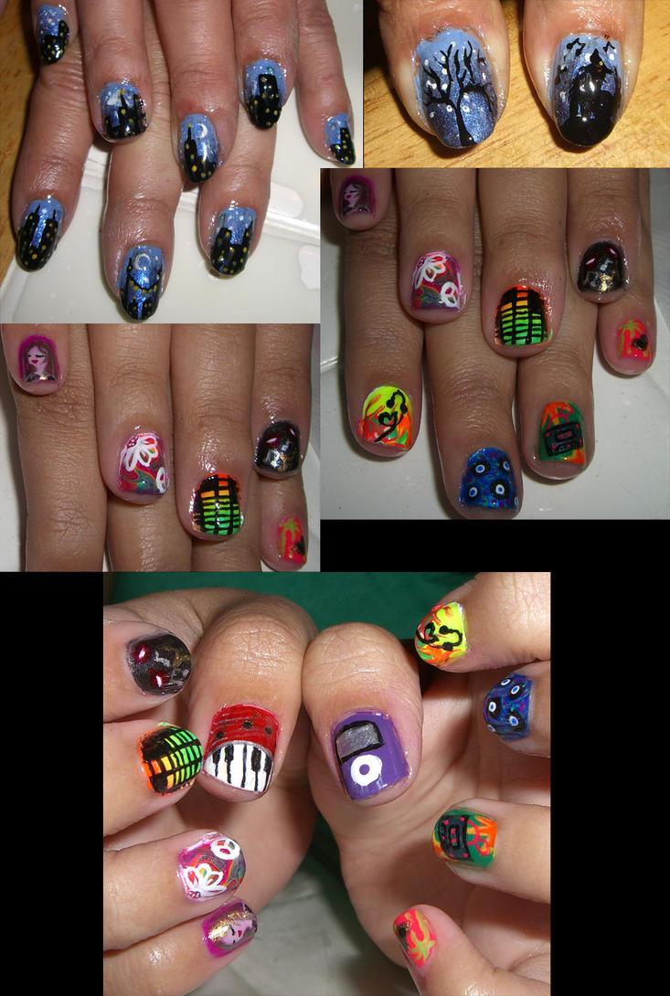 Colorful Inuyasha Nail Art Gallery - Nail Art Design Ideas ...